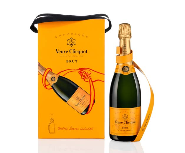 Veuve Clicquot Ribon Bottle Server