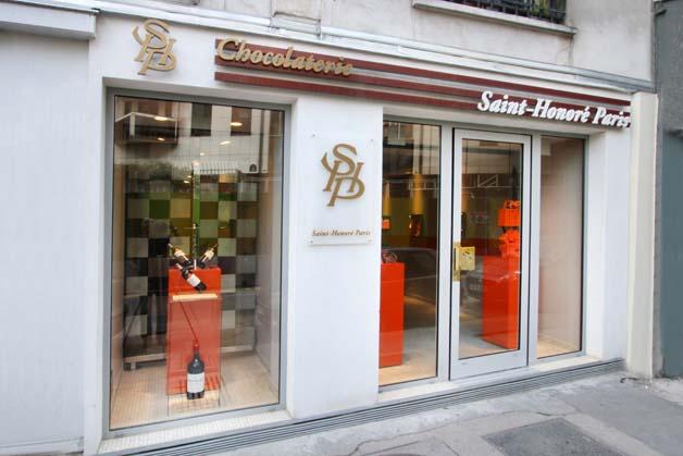 Saint-Honoré Paris « Chocolat & Vin »