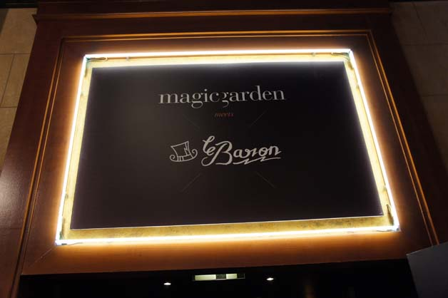Magic Garden meets Le Baron Cannes 2012