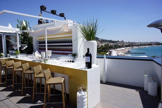 Mouton Cadet Wine Bar Cannes 2012