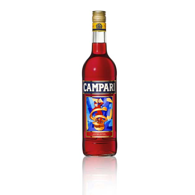 Campari Spiritello Ugo Nespolo
