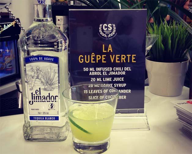 Cocktail La Guêpe Verte