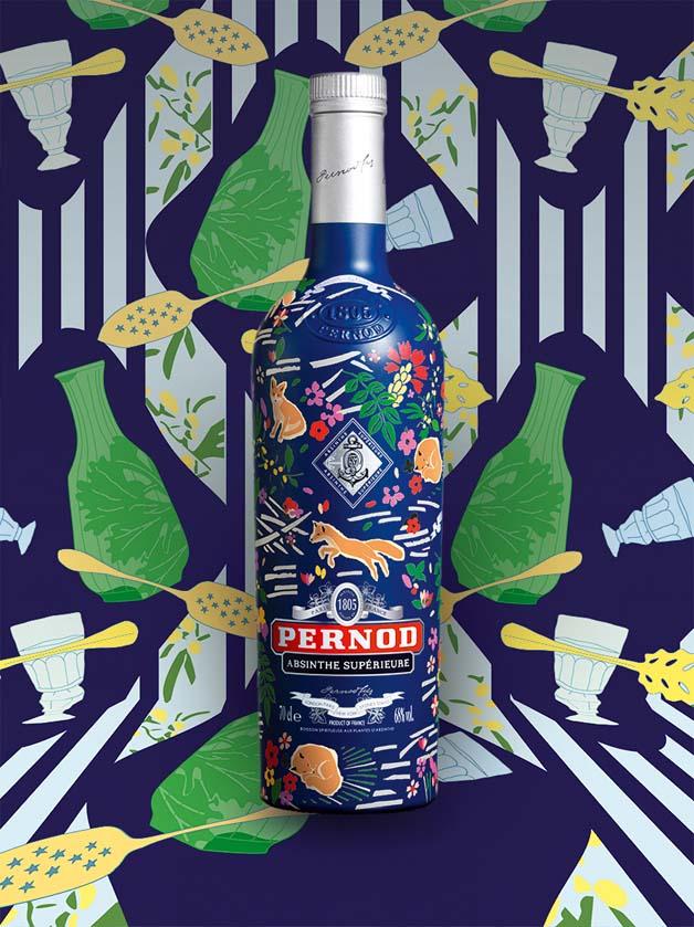 Pernod Absinthe x Maison Kitsuné