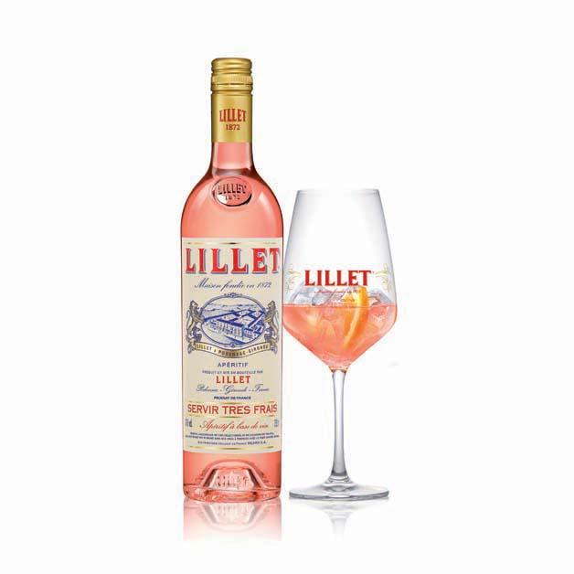 Lillet Rose Spring Cocktail Recipe — Dishmaps