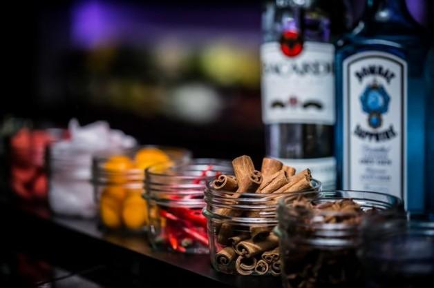 Sparkling bar by Bacardi le Médirien