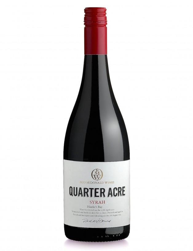 Quater Acre Syrah New Zealand